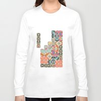 tetris Long Sleeve T-shirts featuring TETRIS by Bianca Green