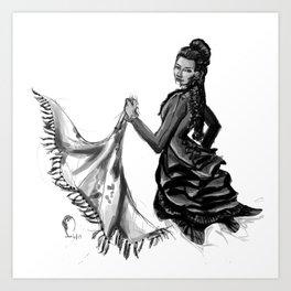 Soiled Linens Art Print