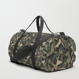 Triangle camouflage Duffle Bag