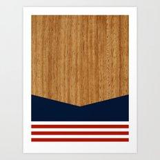 Vintage Rower Ver. 1 Art Print