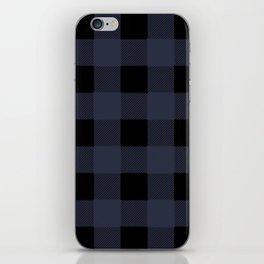 Blue Buffalo Plaid iPhone Skin