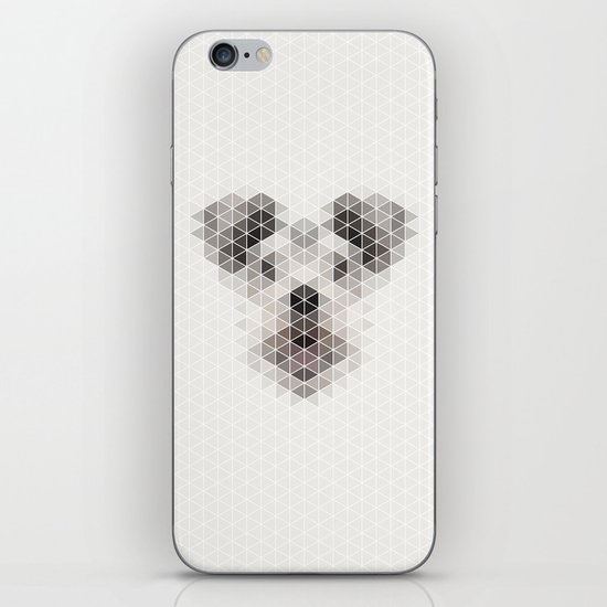 Happy pup iPhone & iPod Skin