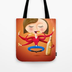 Beer & Chips Tote Bag