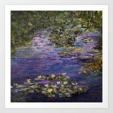 Monet's Giverny Gardens Art Print