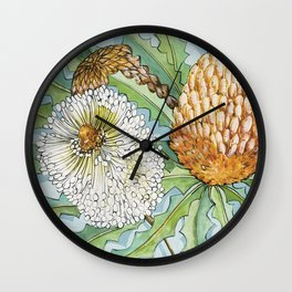 Banksia Wall Clock