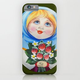 Digital Matrioska iPhone Case