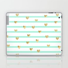 Line Heart Laptop & iPad Skin