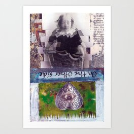 On the otherside Art Print