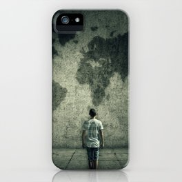 searching a destination iPhone Case