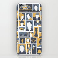twin peaks iPhone & iPod Skins featuring Twin Peaks by Bill Pyle