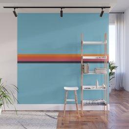 Gabija - Classic Retro Summer Stripes Wall Mural