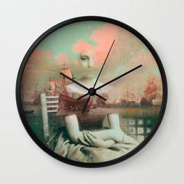 Traveling Dreams Wall Clock
