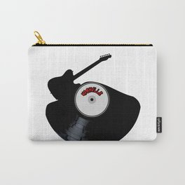 Nashville Country Music Silhouette Record Carry-All Pouch