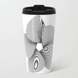 Bio Flower Art Print Travel Mug