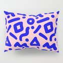 Doodle Pattern - Pink and Electric Blue by danleman