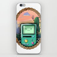 bmo iPhone & iPod Skins featuring BMO!! by SempiternalILLUSTRATIONS