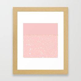XVI - Rose 3 Framed Art Print