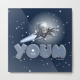 Youm Blue Sky! Metal Print