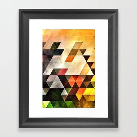 bryyx pyynx Framed Art Print