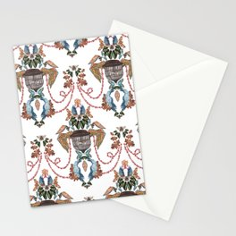 Bird Baroque Stationery Cards