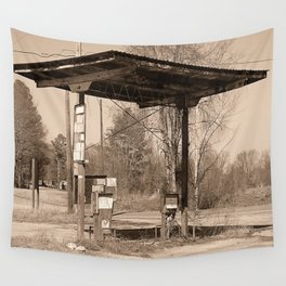Gone Gas Wall Tapestry