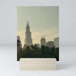 Looking West from Lake Shore Drive Mini Art Print