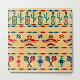 Agave Pattern Metal Print