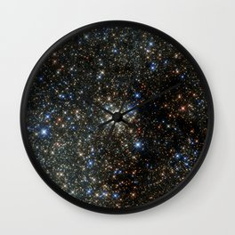 Hubble Peers into the Most Crowded Place in the Milky Way Wall Clock