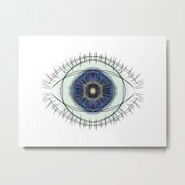 seeing blue Metal Print