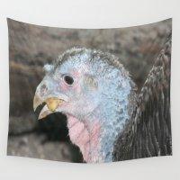 turkey Wall Tapestries featuring Turkey! by Twilight Wolf