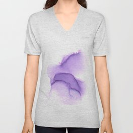 Alcohol Ink Love 1 Unisex V-Neck