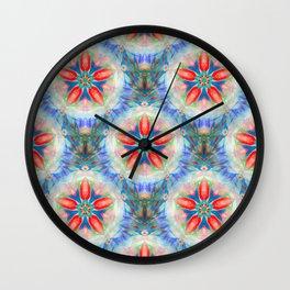 Strawberry Parfait Wall Clock