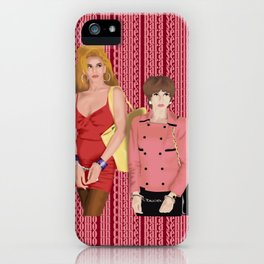 nada respetable iPhone Case