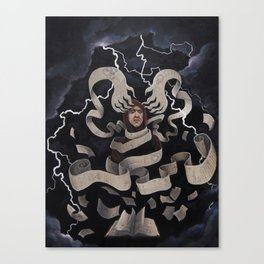 Agnes Sampson Canvas Print