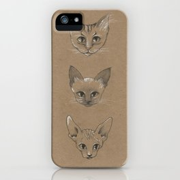 Cats! iPhone Case