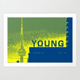 Young Yellow Art Print