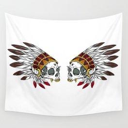 Geronimo's Head Wall Tapestry