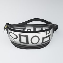 Abstract background with frames Fanny Pack