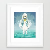 cyarin Framed Art Prints featuring Safe Haven by Cyarin