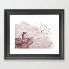 Letters from the Edge of the World Framed Art Print