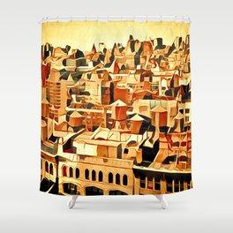 City by Jean-François Dupuis Shower Curtain