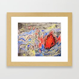 Apoplexy Framed Art Print