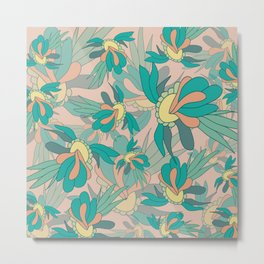 Abstract summer flower composition Metal Print