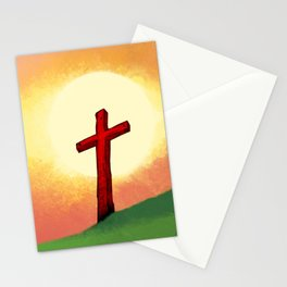 People Going to the Cross Stationery Cards