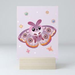 Marbled Emperor Moth Mini Art Print