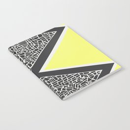 Abstract Mountain Range Notebook