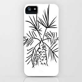 Baby palm tree iPhone Case