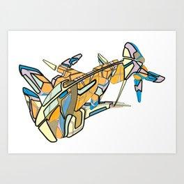 Hiva-02 Art Print