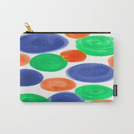 BLUE ORANGE GREEN Carry-All Pouch