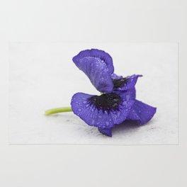 Violet spring dreams Rug